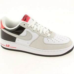 Details about 318775 101 Nike Air Force 1 07 Low Premium Max 90 Edition White Grey Infrared