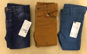 Garcons-Hema-Ete-Coton-3-Couleurs-Pantalon-Pantalon-Pour-les-tout-petits-2M-5Y-Haute-Qualite