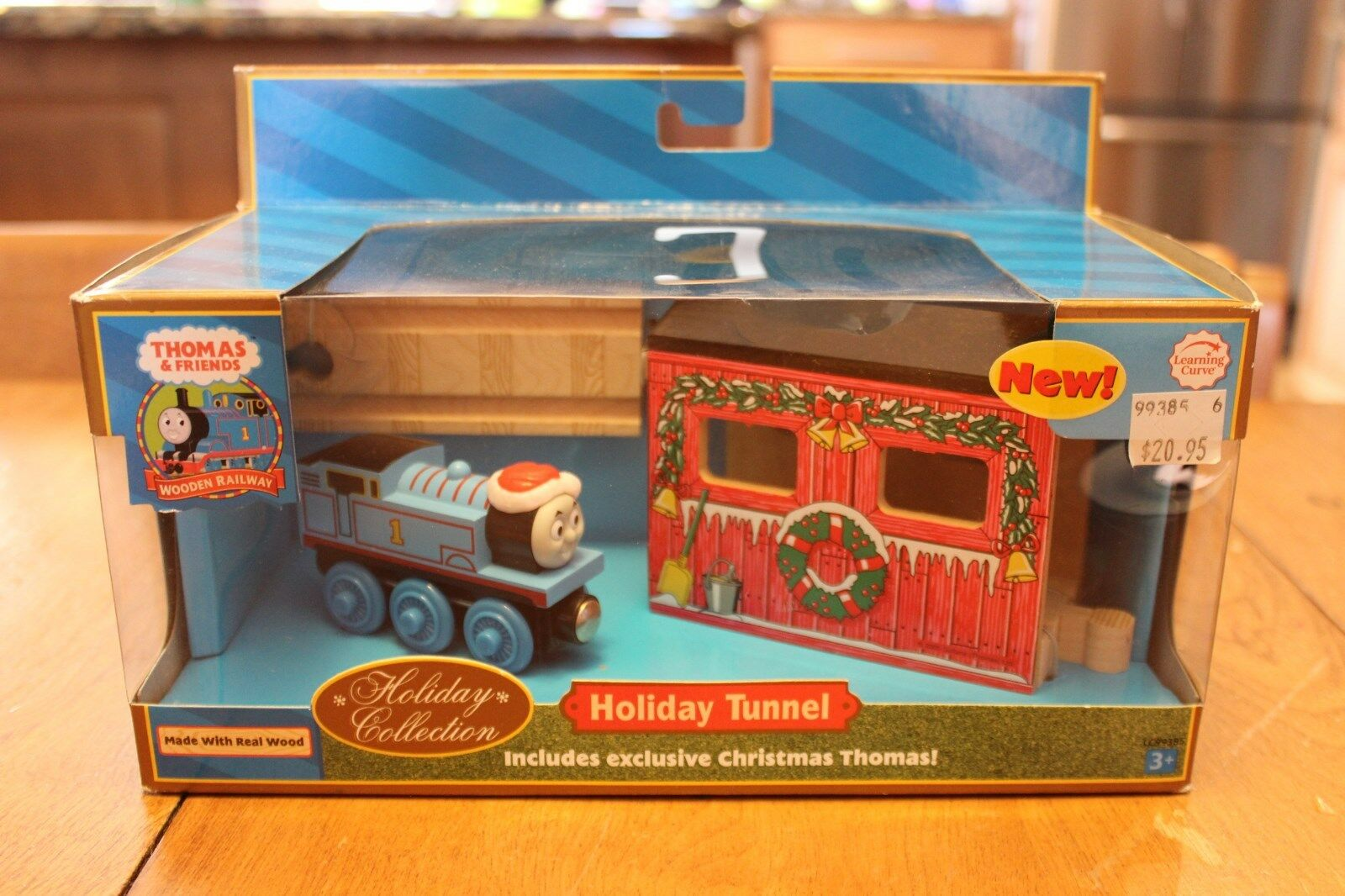 Thomas & Friends Wooden Railway LC99385 Holiday Tunnel Christmas Real Wood New