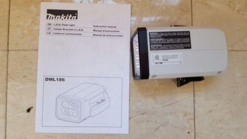 Flashlight 18V with warranty Makita DML186W Compact Lithium-Ion Cordless L.E.D