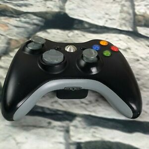 Genuine Black Microsoft Xbox 360 Wireless Controller Model 1403