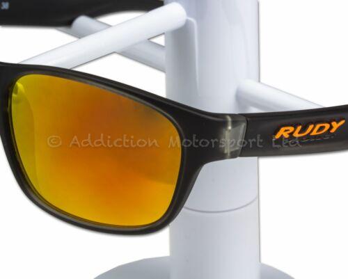 Rudy Project Lifestyle Sunglasses SP364038 Sensor Glass Iceblack MLS Orange