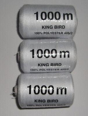 Stärke 120 Garn 50S//2 1000m Nähgarn 1000Y, 0,14€//100m