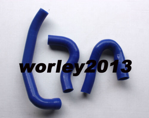 Blue Silicone radiator hose for Navara D22-Ⅱ 3.0 TDi ZD30 Turbo Diesel 2001-2006