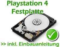 Playstation 4 Festplatte + Einbauanleitung 2tb Samsung Seagate Spinpoint Hdd Pro