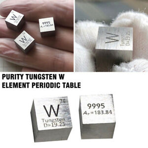 1PC-99-95-High-Purity-Tungsten-W-10mm-Cube-Metal-Carved-Element-Periodic-Table
