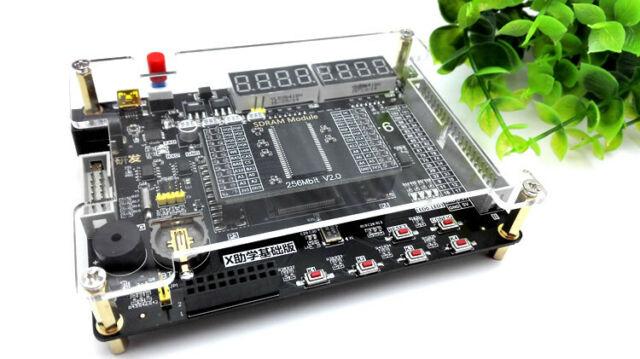 Xilinx Spartan-6 XC6SLX9 Development Board + 256Mbit SDRAM + VGA Module.