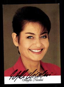 Tv Kompetent Sibylle Nicolai Autogrammkarte Original Signiert # Bc 93833 Warm Und Winddicht
