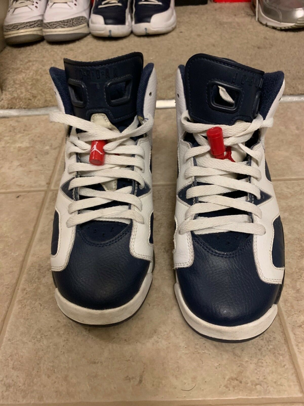 Nike air jordan retro olympic 6 size 6