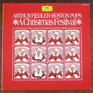 Boston Christmas Festival.Details About Arthur Fiedler Boston Pops A Christmas Festival Lp 1978 Dg 2584 024