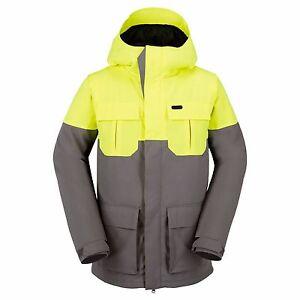 2017 Nwt Mens Volcom Alternate Insulated Snowboard Jacket