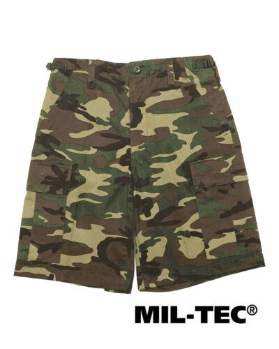MIL-TEC Bermuda WOODLAND Shorts Pantaloni Corti