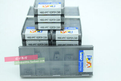 10pcs//box Iscar HM90 APKT 1003 PDR IC908 Carbide inserts New free shipping