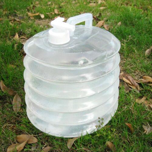 Bucket 3L Capacity Bottle Handle Outdoor Water Bucket Collapsible Camping