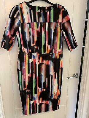 Womens Scuba Bodycon Frill Dress JD Williams