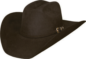 Image is loading New-Bullhide-Hats-LEGACY-8X-FUR-Blend-Western- 0a014aabe5df