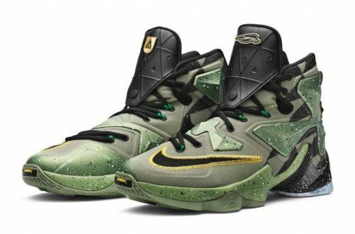 finest selection e9181 d3089 Nike Lebron James 13 XIII AS ALLIGATOR 835659 309 PREMIUM BASKETBALL SHOES