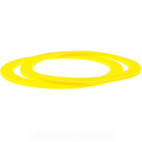 2-Pack Equivalent to Kohler-GP1059291 Canister Flush Valve Seal For Toilets