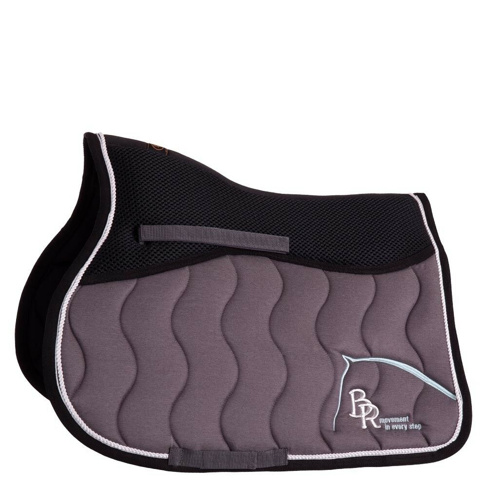 Saddle Pad BR  Passion Mona mechanically. Twill VS Dark Grey  looking for sales agent