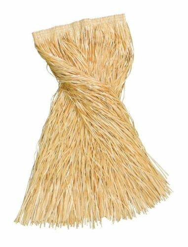 robe fantaisie taille 18-34 Plus Taille//XL Long Jupe Hawaïenne Grass 80 cm couleur paille