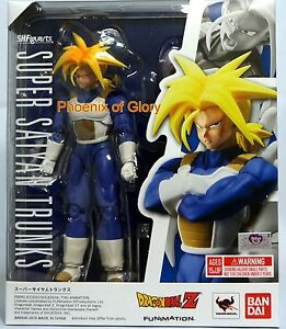 New Bandai Tamashii S.H Figuarts Dragonball Z Super Saiyan Trunks USA