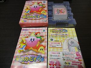 HOSHI-no-Kirby-64-The-Cryst-Nintendo-N64-with-BOX-and-Manual-JAPAN-085