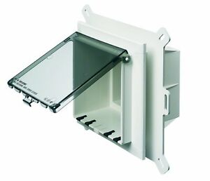 DBHR131W White Low Profile InBox for Retofit Siding Arlington