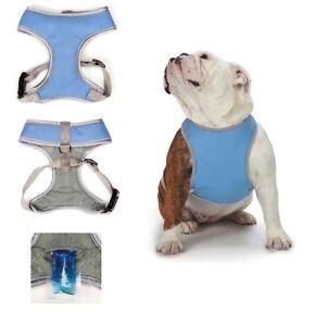 cool pup reflective cooling harness dog vest w ice packs hot weather ebay. Black Bedroom Furniture Sets. Home Design Ideas