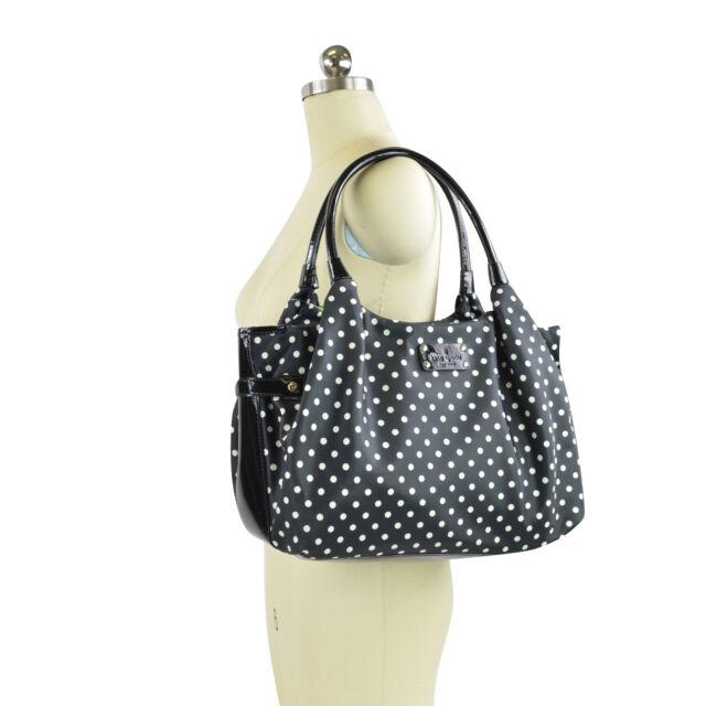 Kate Spade Stevie Classic Spot Nylon Polka Dot Handbag Wkru 1610 318