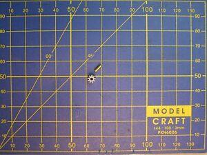 RARE 2 pignons bague axe 1,5 mm 7 à 20 dents  M0.5 moteur HO JOUEF STROMBECKER