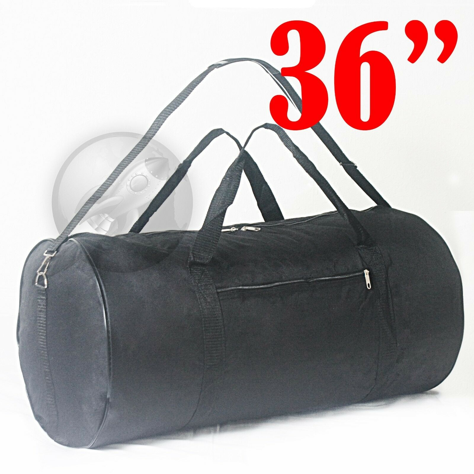 Details about Lot of 2 Luggage Travel Roll Duffle Bags 36