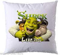 Coussin Shrek Personnalisé Avec Prénom De Votre Choix (v2)