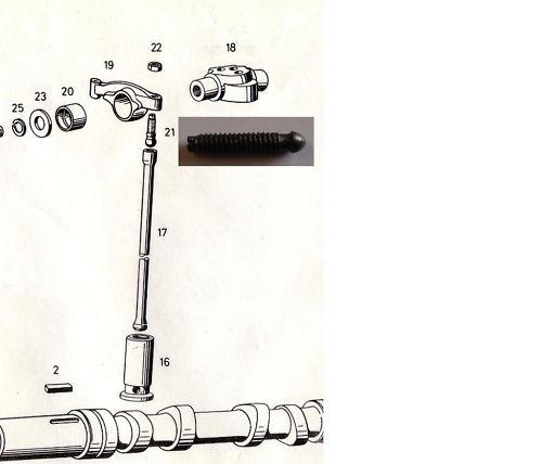Güldner tornillo de regulación kipphebel l79 l 79 G-serie nuevo