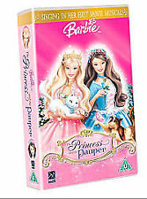 Barbie As the Princess and the Pauper [VHS], Good VHS, ,