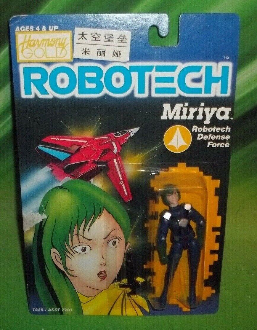 ROBOTECH VINTAGE DEFENSE FORCE ZENTRAEDI MIRIYA FIGURE1985 MATCHBOX HARMONY gold