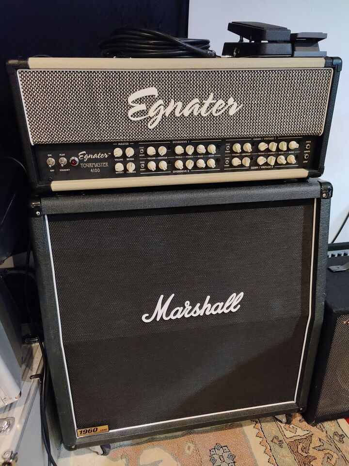 Guitarforstærker, Egnater Tourmaster 4100, 100W W
