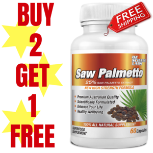 Saw-Palmetto-60-Capsules-Prostate-Health-Mens-Health-Tablets-Buy-2-1-FREE