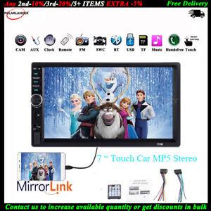 7-034-2-DIN-Autoradio-AUX-TF-Lien-Miroir-Stereo-ecran-Tactile-Bluetooth-MP5-Lecteur