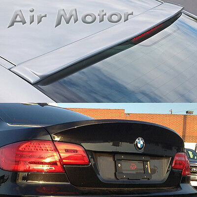 PAINTED COLOR FOR BMW E92 2D COUPE A STYLE ROOF REAR SPOILER 335i