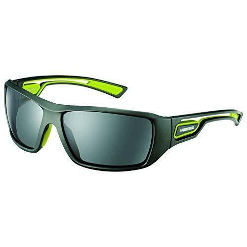 SHIMANO HG-008M Fishing Sunglasses verde Polycarbonate Polarized Lens Japan