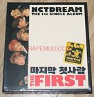NCT DREAM THE FIRST 1st Single Album K-POP CD + PHOTOCARD + POSTER IN TUBE CASE