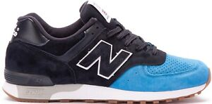 Details about NEW BALANCE 576 M576PNB MADE IN ENGLAND Black Blue Sneakers Shoes 8.5 Mens