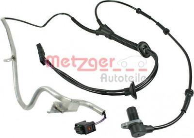 Sensor Raddrehzahl für Bremsanlage Hinterachse METZGER 0900196