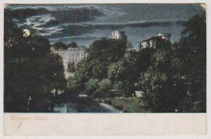 Warwickshire postcard - Warwick Castle - P/U 1904 (A212)