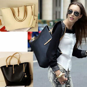 FASHION HANDBAG LADY SHOULDER BAG TOTE PURSE PU LEATHER WOMEN MESSENGER HOBO LOT