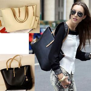 Fashion-Lady-Shoulder-Bag-PU-Leather-Handbag-Tote-Women-Messenger-Satchel-Purse