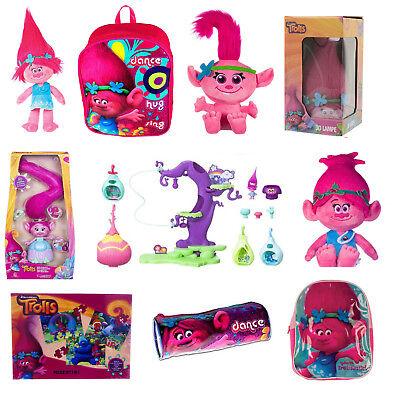 Nuovo Ufficiale Dreamworks Troll Poppy Giocattolo Morbido Zaino Puzzle Lampada Play Set-mostra Il Titolo Originale