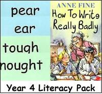 HOW to WRITE REALLY BADLY Lit. Pack - Y4 Teacher Resource