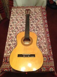 b9c9406f095 Amena Acoustic Guitar 3/4 size and hard case | eBay
