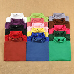 Maniche-Lunghe-Shirts-Donna-Maglietta-Autunno-Cima-Alla-Top-Camicie